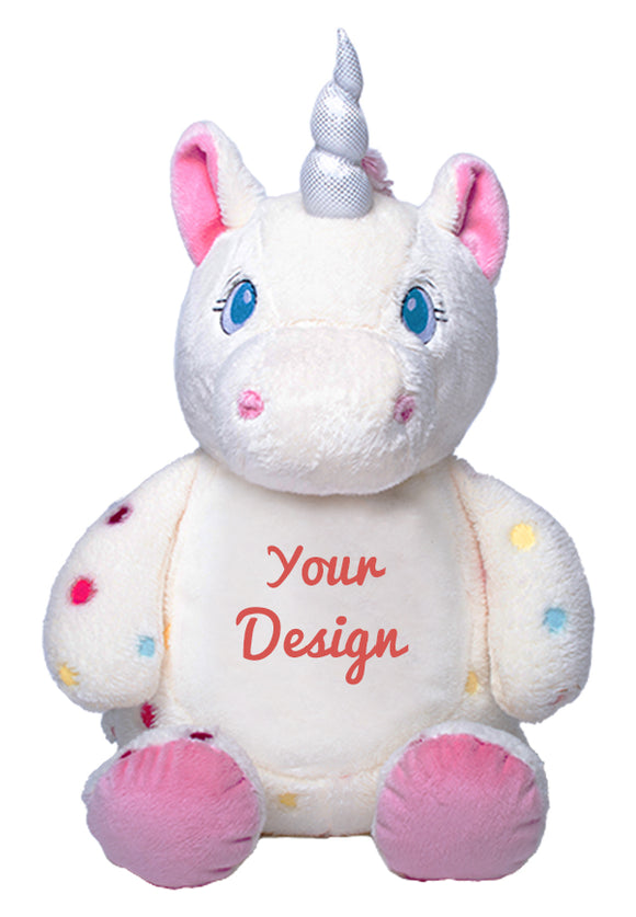 Aurora Unicorn Personalized Teddy Bear – Cubbies®