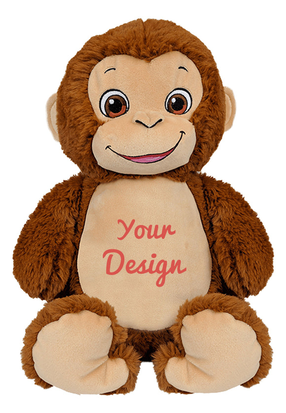 Bugaloo Monkey Personalized Cubbies