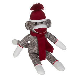 Personalized Sock Monkey - Red