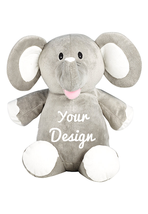 Elle Elephant Personalized Teddy Bear – Cubbies®