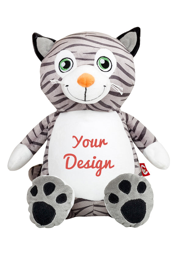 Mr Miowgi Cat Personalized Teddy Bear – Cubbies®