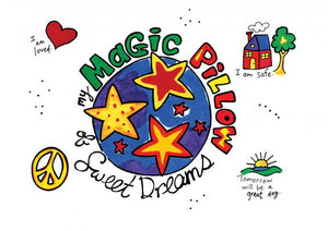 """My Magic Pillow of SWEET DREAMS"" Pillow Case Painting Kit"
