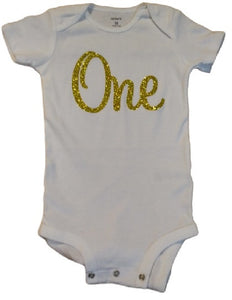 """One"" Year Old Bodysuit"