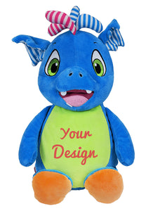  Scorch Dragon Personalized Teddy Bear – Cubbies®