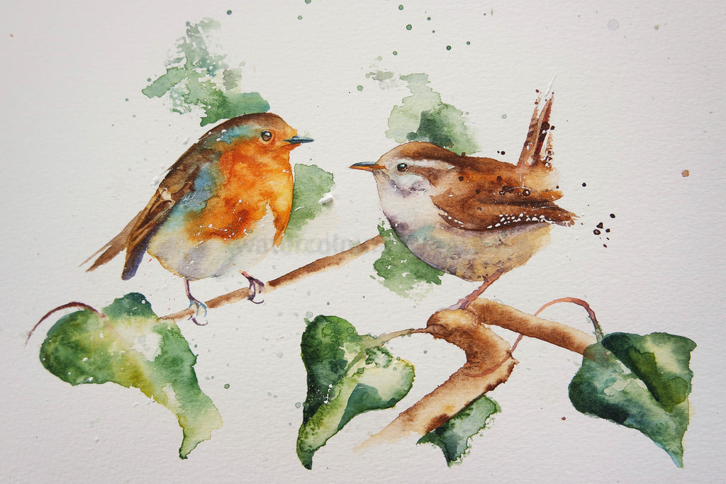 The wren and the robin