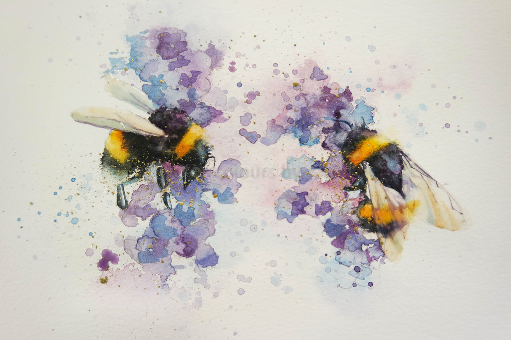 Lavender Bees
