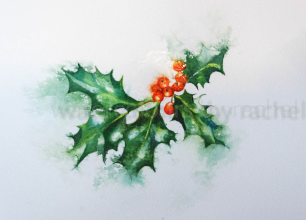 'Tis the season to paint holly
