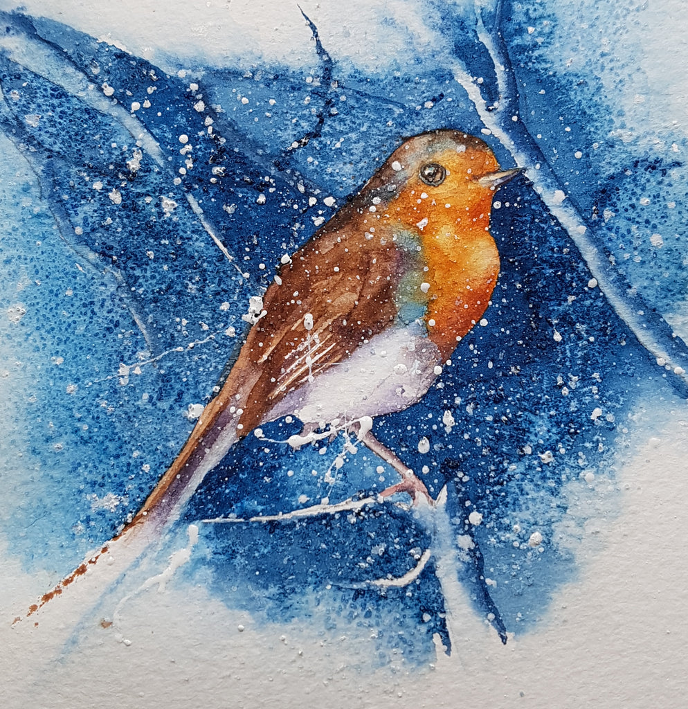 Painting James's Robin