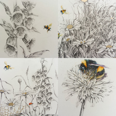 Bees and sketches
