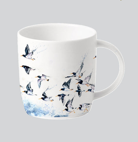 RSPB Oystercatcher mug only available for shipping in the UK