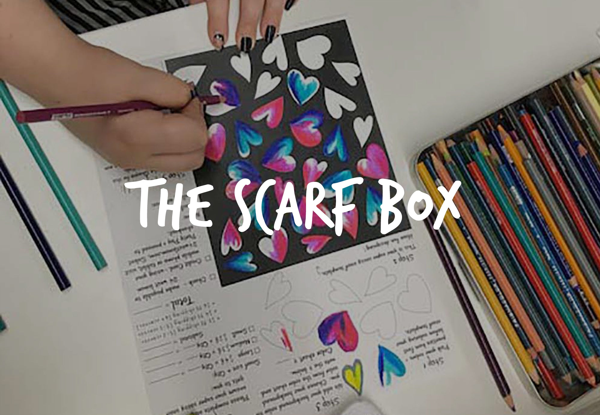 24 West Lemon - How it Works: The Scarf Box