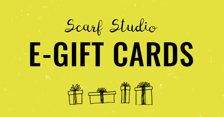 The Scarf Studio - E-Gift Cards