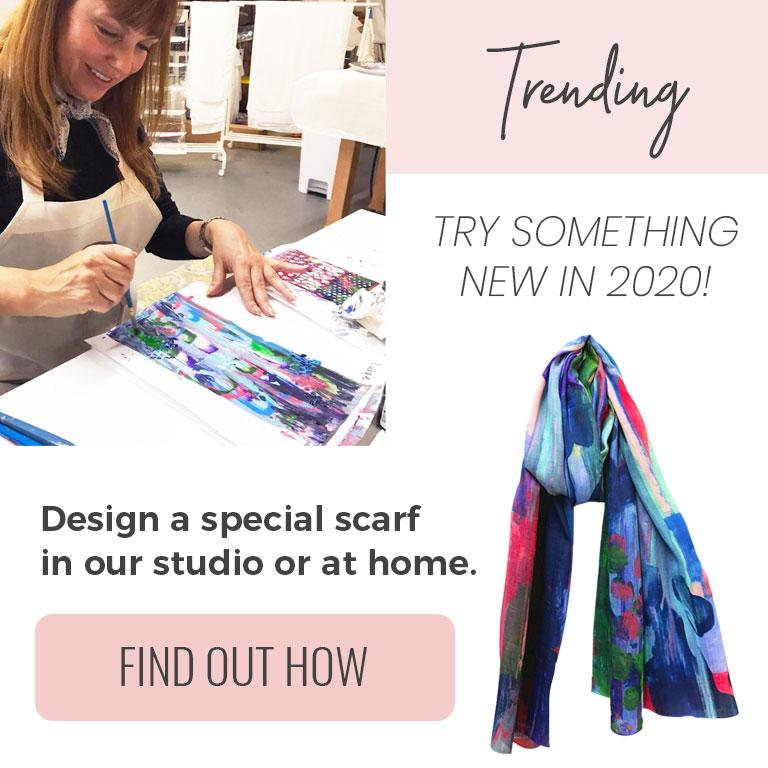 Design Your Own Scarf - September