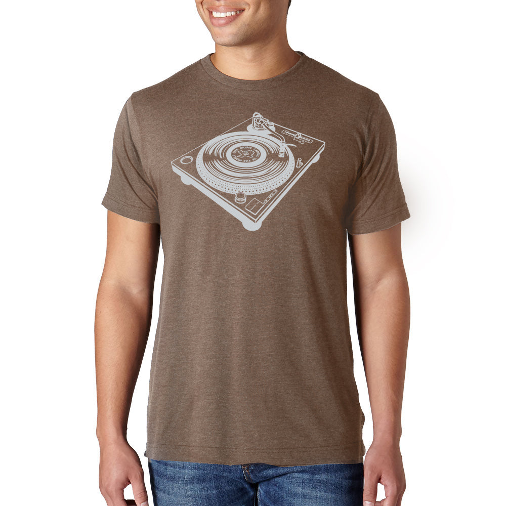 TURNTABLE // Style 254 Mocha // Classic Record Shirt