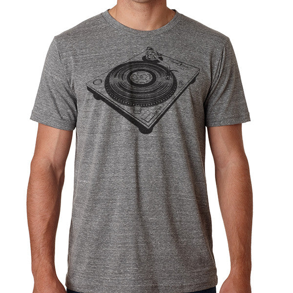 Turntable // Style 3413 Grey // Classic Record Shirt