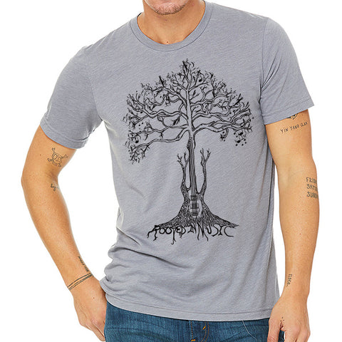 Rooted in Music // Style 3413 Storm // Music Lover Tee Shirt