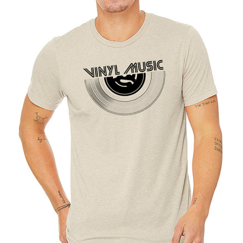 Vinyl Music // Style 3413 Military Green // Vintage Music Tee