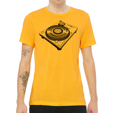 Turntable // Style 3413 Yellow Gold // Classic Record Shirt