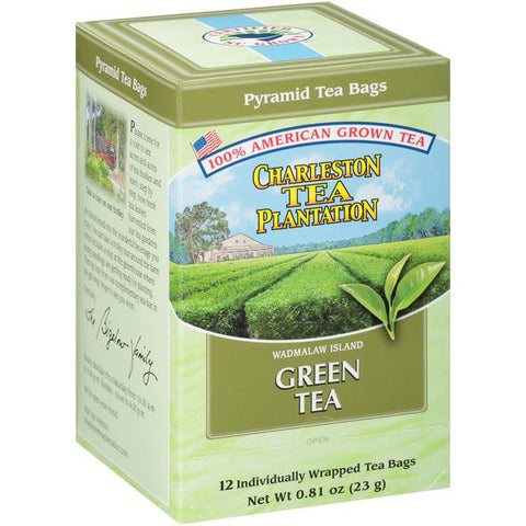 American Classic Tea Charleston Green Tea Flavored Tea 12 Tea Bag Servings