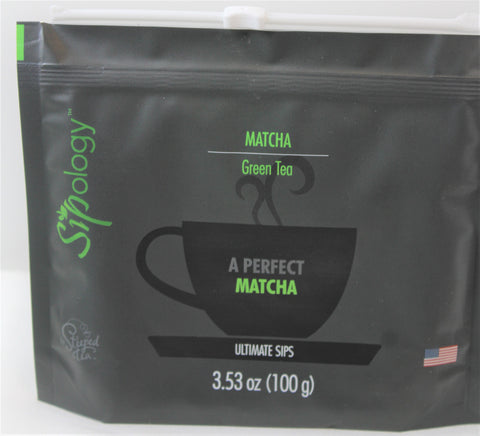Sipology by Steeped Tea - Green Tea - MATCHA- Premium Matcha 3.53oz.