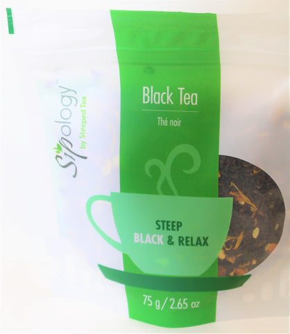 Sipology by Steeped Tea -Loose Leaf Black Tea - Blood Orange Biscotti 2.65oz.