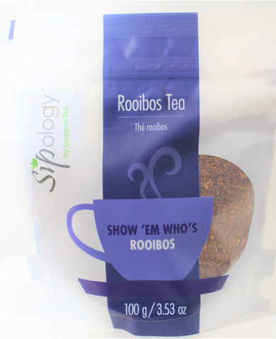 Sipology by Steeped Tea -Loose Leaf Rooibos Tea -Gingersnap Cookie 3.53oz