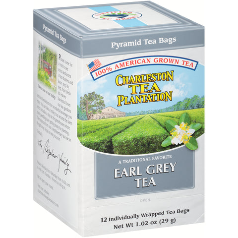 American Classic Tea Charleston Earl Grey Flavored Tea 12 Tea Bag Servings