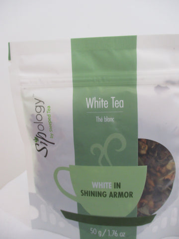 Sipology by Steeped Tea -Loose Leaf White Tea- Honey Cream Puff 1.76oz.
