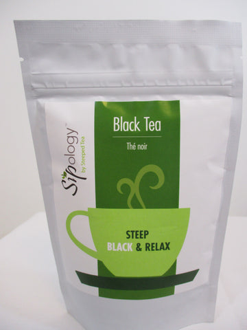 Sipology by Steeped Tea Loose Leaf Black Tea -Bluest Blueberry 2.65oz