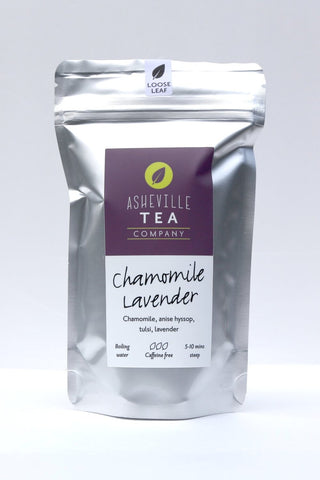 Asheville Tea - 1oz Loose Leaf Herbal Tea -Chamomile Lavender- Caffeine Free