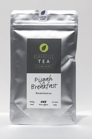 Asheville Tea 1oz. Loose-Leaf Black Tea -Pisgah Breakfast- Most Caffeine