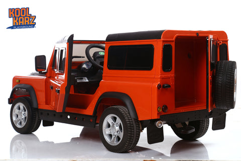 Kool Karz®Land Rover Defender Electric Ride On Toy Car