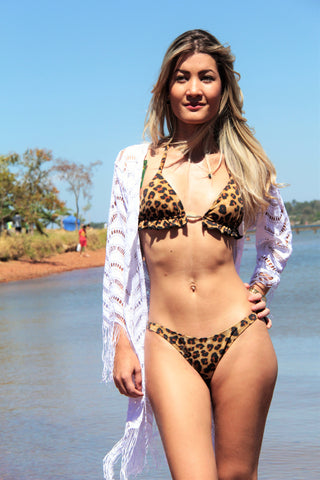Brazil Fit and Swim - Wild Bikini - Animal Print - Sense - Made in Brazil