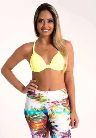 Fitness Basic Top - Yellow