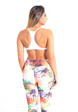 Brazil Tropical Fitness Legging
