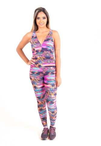 Twisted Fitness Jumpsuit