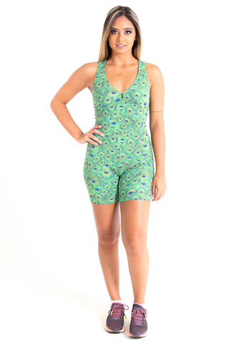 Peacock Fitness Jumpsuit