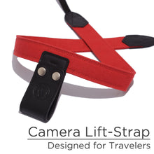 Firebrick Canvas Camera Lift-Strap