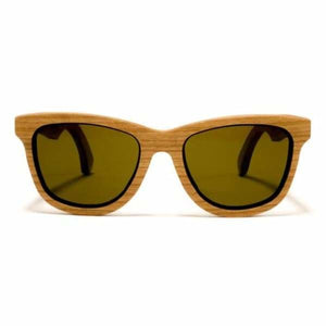Bombay Sunglasses Handcrafted Wood - Cherry / Coffee - Jewelry & Accessories