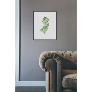 Counties Print - Prints & Artwork