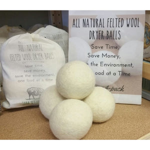 Felted Wool Dryer Balls - Home & Lifestyle