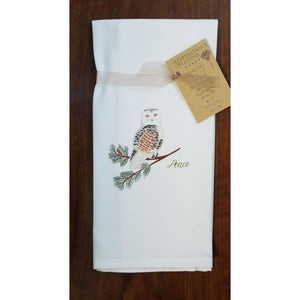 Holiday Kitchen Towel - Owl - Home & Lifestyle