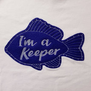 Kids T-Shirt Im a Keeper - Kids