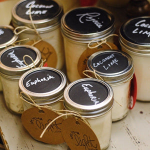 Mason Jar Soy Candle (16 oz.) - Home & Lifestyle