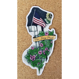 New Jersey Magnet - Jersey Proud - Books & Cards