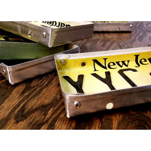 NJ License Plate Tray - Home & Lifestyle