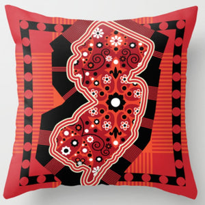 NJ State Pillow in Assorted Designs - Bandandy - Home & Lifestyle