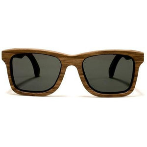 Steadman Sunglasses Handcrafted wood Sunglasses - Walnut / Grey - Jewelry & Accessories