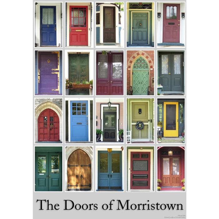 The Doors of Morristown Print