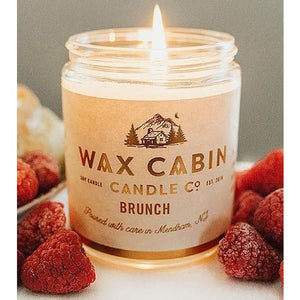 Wax Cabin Soy Candle 8oz. - Brunch - Home & Lifestyle